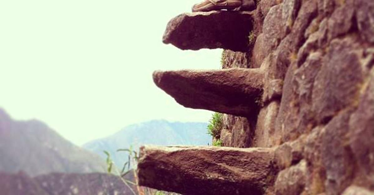 Huayna Picchu: Not recommended if you suffer from vertigo?
