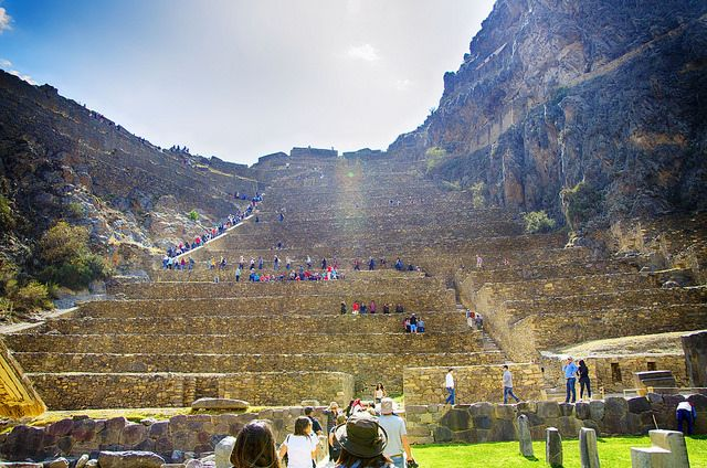 The mystery of OLLANTAYTAMBO: the most impossible constructions on Earth.